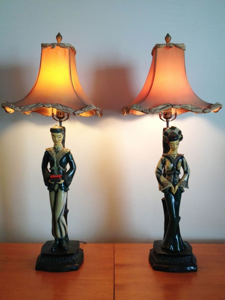 Best Chalkware Majestic Amp Atomic Lamps Images Pinterest Medieval Mid