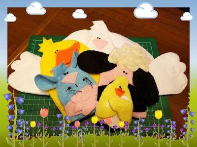 Elena Ricami: La Pasqua e i Burattini