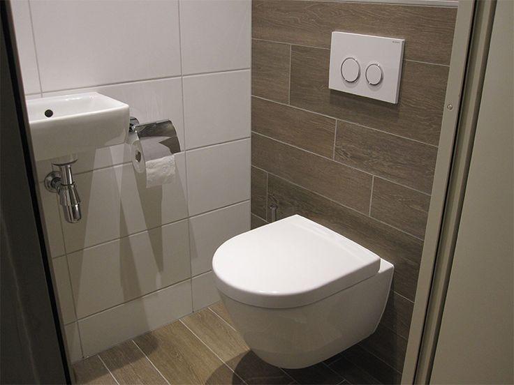 www.franckvanvliet.nl Toiletruimte met houtlook tegels