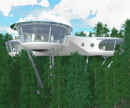 Forest Canopy Lofts: The Ultimate Tree House Designed by Robert Harvey Oshatz
