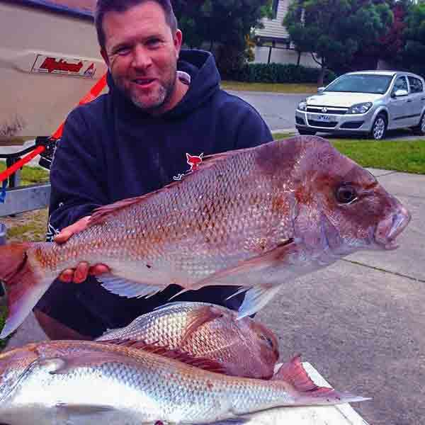 Fishing Melbourne's Port phillip Bay Snapper Season A Guide to Catching More fish Gps Marks & Map Included