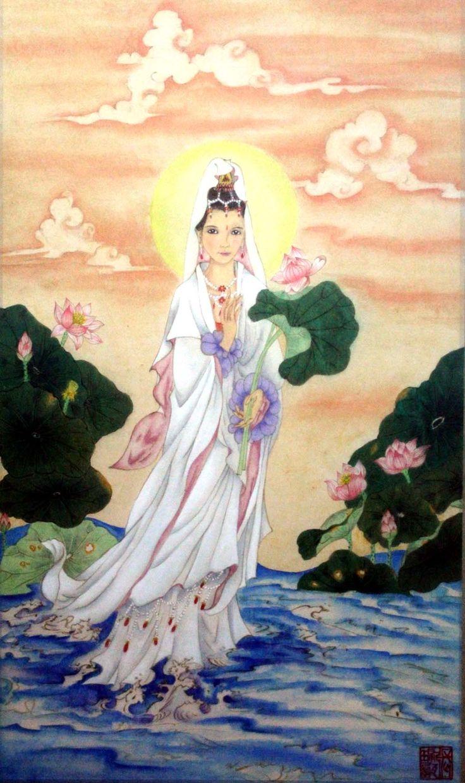 #ChineseArt #Painting #Lotus
