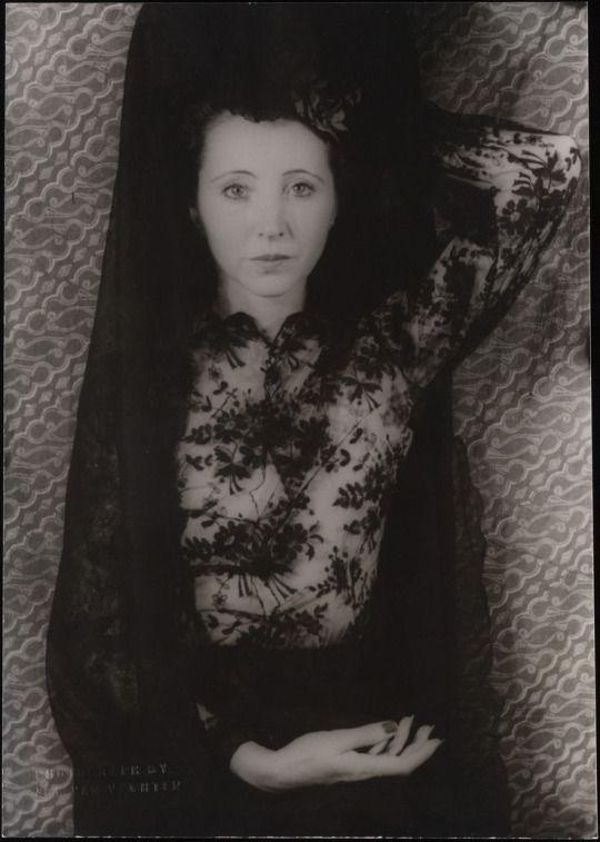 Portrait de Anaïs Nin Photographie de Carl van Vechten