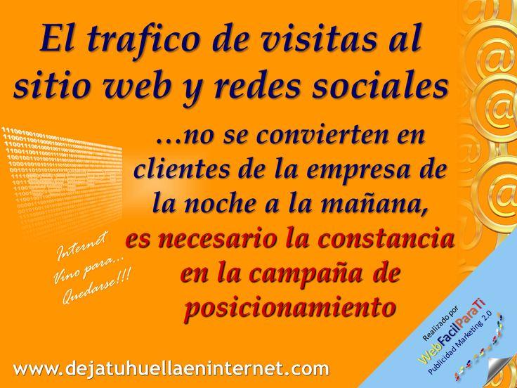 Es importante que el sitio web y paginas en redes, invite a los visitantes a regresar, a opinar e incluso a compartir la informacion con sus contactos