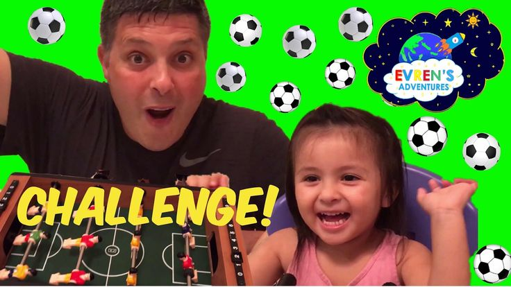 FOOTBALL TABLE Family Board Game Fun Soccer Mini Game Challenge Evren Adventures Toys Review. Thanks for joining Evren and her Daddy unboxing and playing the mini soccer table game challenge. We had lots of fun in this soccer game. Great kid video for children who loves playing soccer, fun game challenges and family fun activities Please SUBSCRIBE, like, comments, and share! We would really appreciate it so much. http://www.youtube.com/c/EvrenAdventures?sub_confirmation=1 Thanks for…