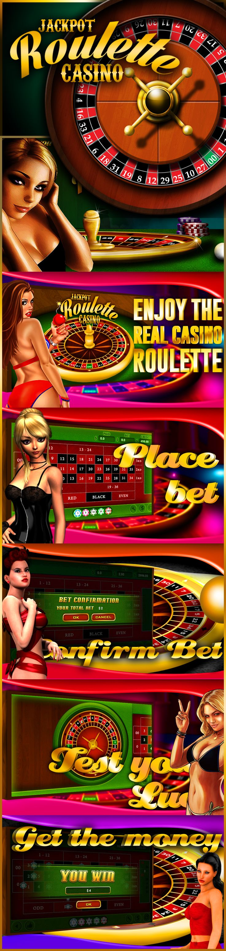 Premium roulette casino game . Simply superb for low price (ad free version )