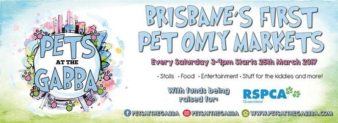 pets at the gabba, dog friendly market, market launch, free, free entry, woolloongabba, the gabba, southside, southern suburbs, brisbane, rspca, charity, fundraiser, aloha hound, bobos pet emporium, boutique birds, cherry pie delights, coopers collars, dk stainless, dogtainers, east coast pets, fluppies, frankie and emmett, golden bone bakery, have 2 have festival, k9 cakes, two feet and four paws, toffs treats, for laterz, suburban pup, rosie and co, qld staffy rescue, pets in peace, pet…