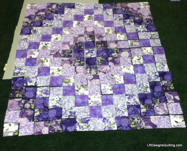 Trip Around the World - My mother's favorite pattern to quilt.