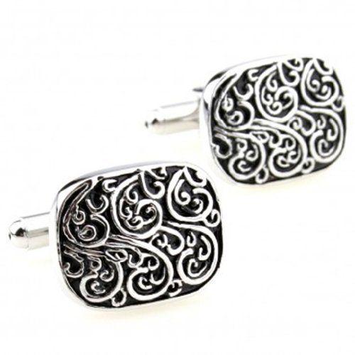 Roman klassischen Muster überzogen Manschettenknöpfe Männer Französisch Manschette Nagel (Silver) TGLOE, http://www.amazon.de/dp/B00CXFTNLW/ref=cm_sw_r_pi_dp_22Eksb1VNSFWQ