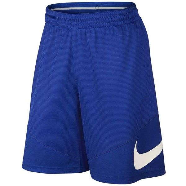 Big & Tall Nike Dri-FIT Basketball Shorts ($25) ❤ liked on Polyvore featuring men's fashion, men's clothing, men's activewear, men's activewear shorts, blue other, mens activewear shorts and mens activewear