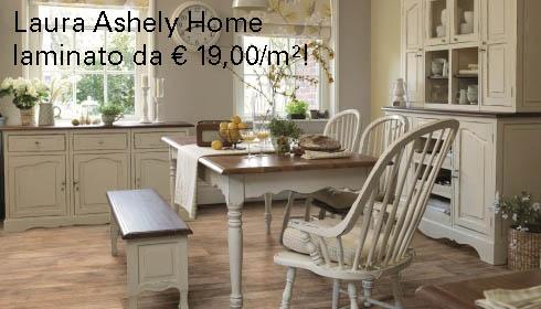 Laura Ashley home, Laminato in stile britannico adesso su Living Parquet - store for floors