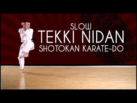 Shotokan Karate kata - Tekki Nidan (Slow)
