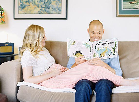 Pasadena maternity photos at home | The Great Romance Photography | 100 Layer…