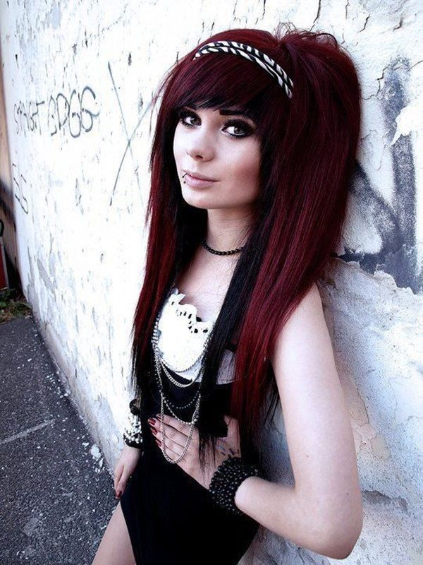 40 Cute Emo Hairstyles: What Exactly Do They Mean | http://stylishwife.com/2014/08/cute-emo-hairstyles.html