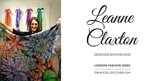 Leanne Claxton - DESIGNER SHOWROOMS (LFW) - FEBRUARY 2016 : How to wear YOUR Leanne Claxton Scarf!