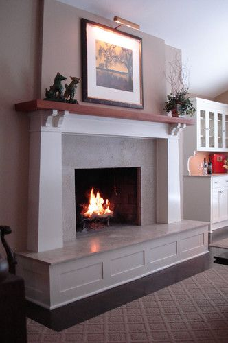 Marble Fireplace Design, Pictures, Remodel, Decor and Ideas - page 21
