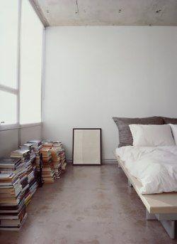 books: Interior Design, Decor, Ideas, Books, Floor, Interiors, House, Bedrooms, Space