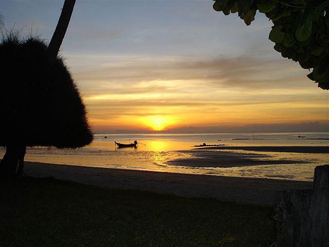 Solnedgång i Thailand by Flygstolen, via Flickr #Thailand #sunset #beach #solnedgang