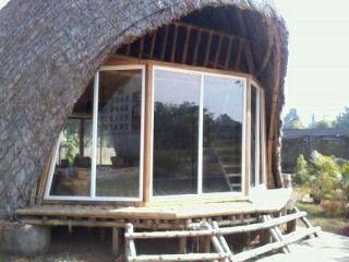 Architecture designed bamboo house keeping the traditional essence intact and alive #visitnagaland