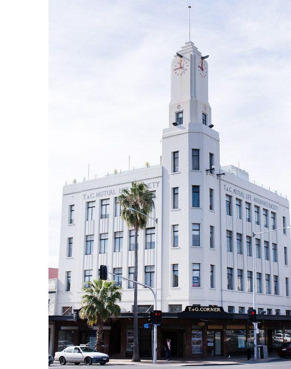 Geelong  T & G building, corner of Ryrie & Moorabool sts.