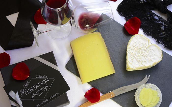 La Saint-Valentin approche ! Qu'allez-vous offrir à votre douce moitié pour lui déclarer votre flamme ? Pourquoi pas la nouvelle box de Tentation Fromage !