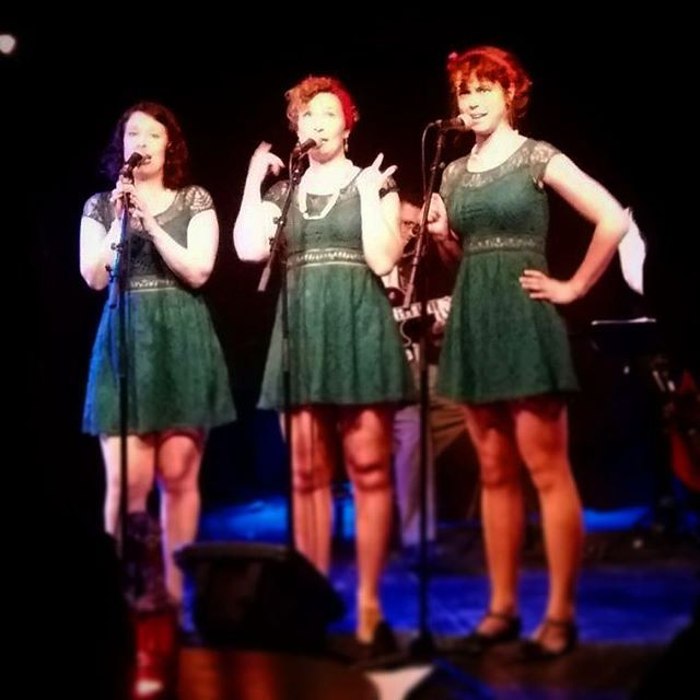 Ritz Lindy Hoppers dancing to the Ginger Sisters at the Doo-Bop Club.