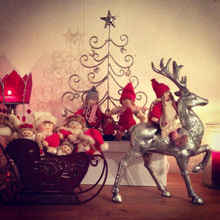 Shabby chic - christmas decor @ Stina Tuominen