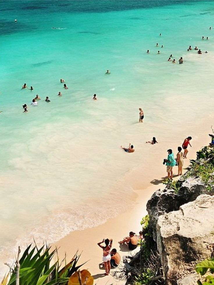 Tulum, Mexico. The most gorgeous water you'll ever swim in. ~~~ Live fast, be free and swim here. Right. Here.