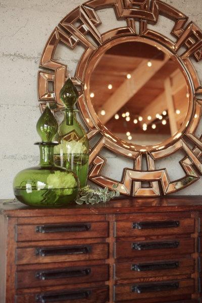 .: Szyszlo Photography, Style, Decorative Mirrors, Green Vase, Unique Mirror, Home Interior Design, Flower