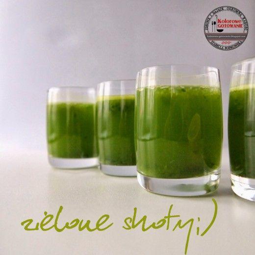 Zielone shoty pełne witamin – zdrowy początek dnia dla całej rodziny!