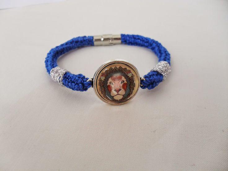 Lion/Leão - Royal Blue/Azul Real