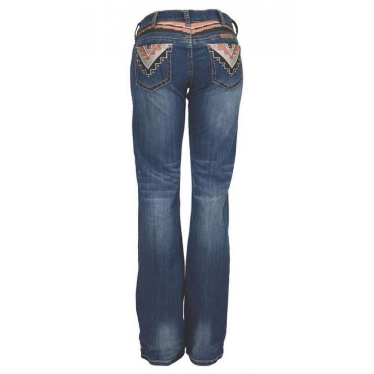 COWGIRL TUFF SIERRA JEANS REG LEG  Keep up with the latest western fashion in these Cowgirl Tuff's!  $165.00