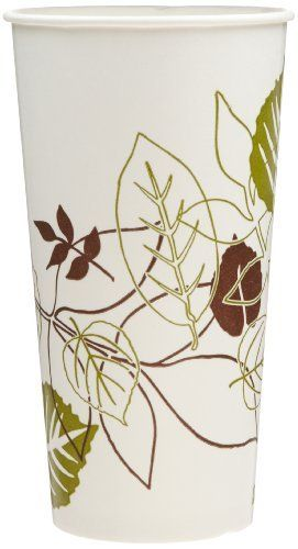 Dixie 22PPATH Pathways Poly Paper Cold Cup, 21 oz Capacity (24 Sleeves of 50) by Georgia-Pacific. $107.39. Polycoated cup for cold beverage service. These cold cups are engineered with two-sided poly-coated to protect against soak-thru, improve rigidity and stand up time for added patron satisfaction. Stock design matches other Georgia-Pacific Food Services Solutions stock paper mealservice products to provide a coordinated look. Dixie paper cold cups for everyday c...