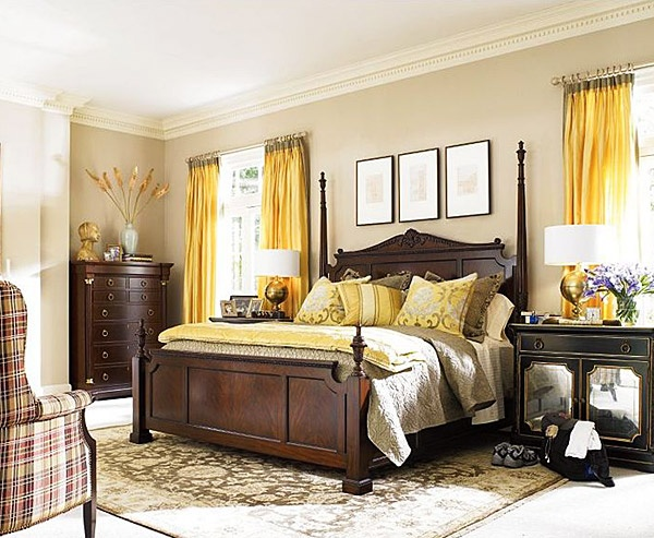 49 Inspiring Sunny Yellow Accents In Bedrooms Ideas 49 Inspiring Sunny Yellow Accents In Bedrooms Ideas With White Brown Wall And Yellow Bed Pillow
