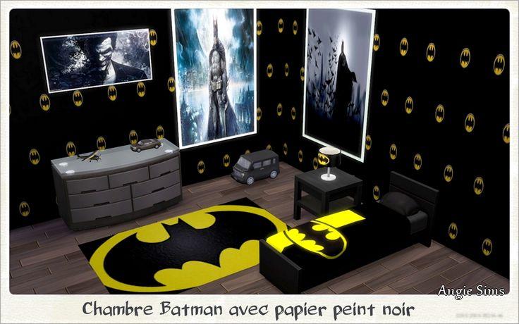 Chambre Batman par Angie Sims   Sims and Batman