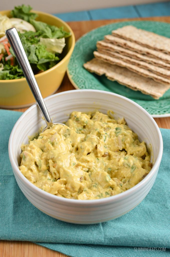 Use up that leftover chicken and make this yummy Coronation Chicken, simple ingredients for a quick to put together dish.