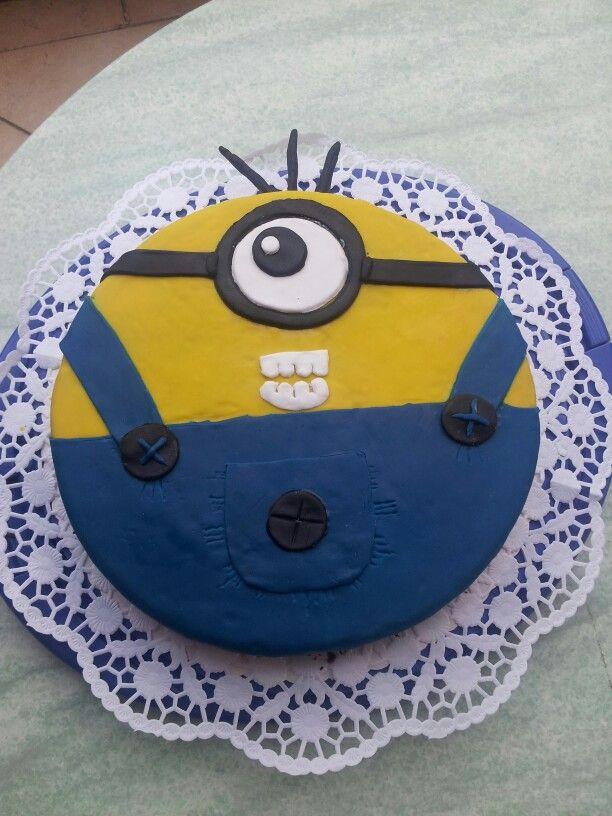 Minion Torte meiner Cousine