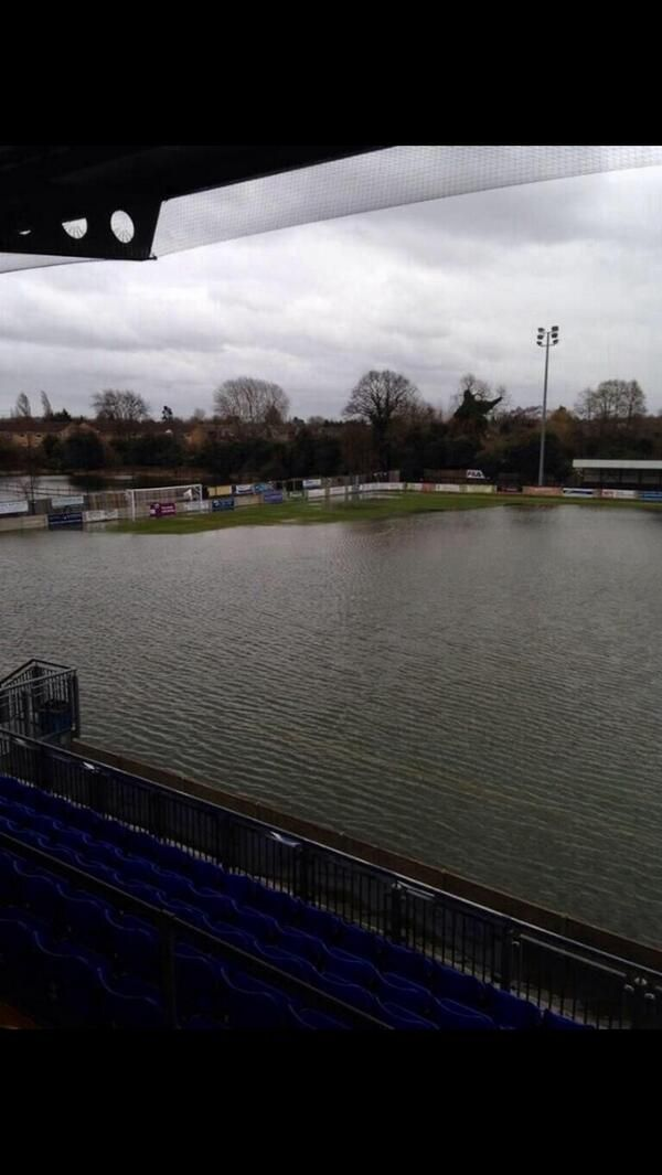 Staines Town FC- February 2014