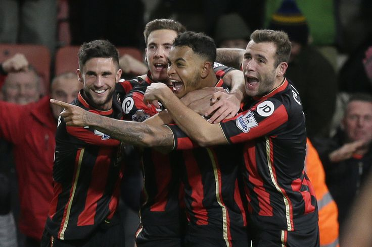 @Bournemouth Junior Stanislas scored directly from a corner and Joshua King netted after half-time to complete a second successive giant-killing for Eddie Howe's team. After just two minutes Junior Stanislas opened the scoring with a curling corner, that eluded David De Gea and entered the net to the delight of the home crowd #9ine