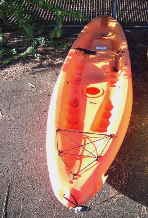 2 Seater Malibu XL Orange Ocean Kayak on GovLiquidation! Who's up for some kayaking?