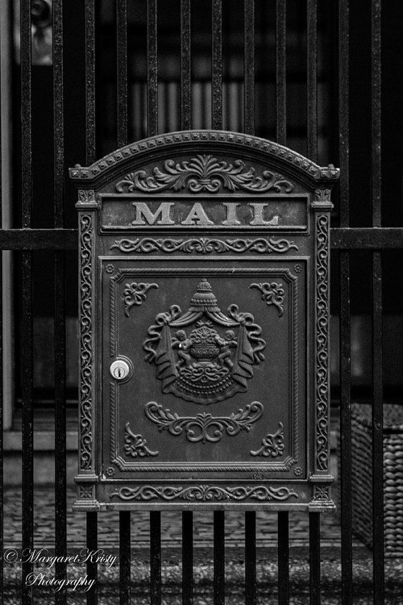 Antique Mailbox in San Francisco  postal by MargaretKristyPhoto