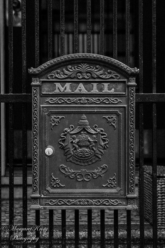 Antique Mailbox in San Francisco  postal by MargaretKristyPhoto