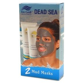 Duo 125 ml. Dead Sea Mud Masks Gift Package - $26