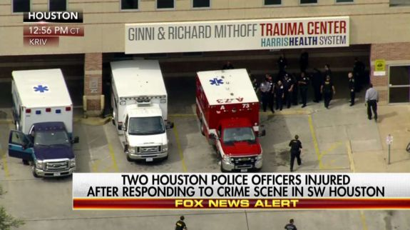 BREAKING: Houston Police Officers Shot After Responding To Burglary Call  Ryan Saavedra Feb 28th, 2017