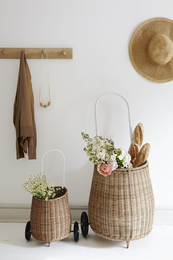 Shopping baskets that are not just for the nursery