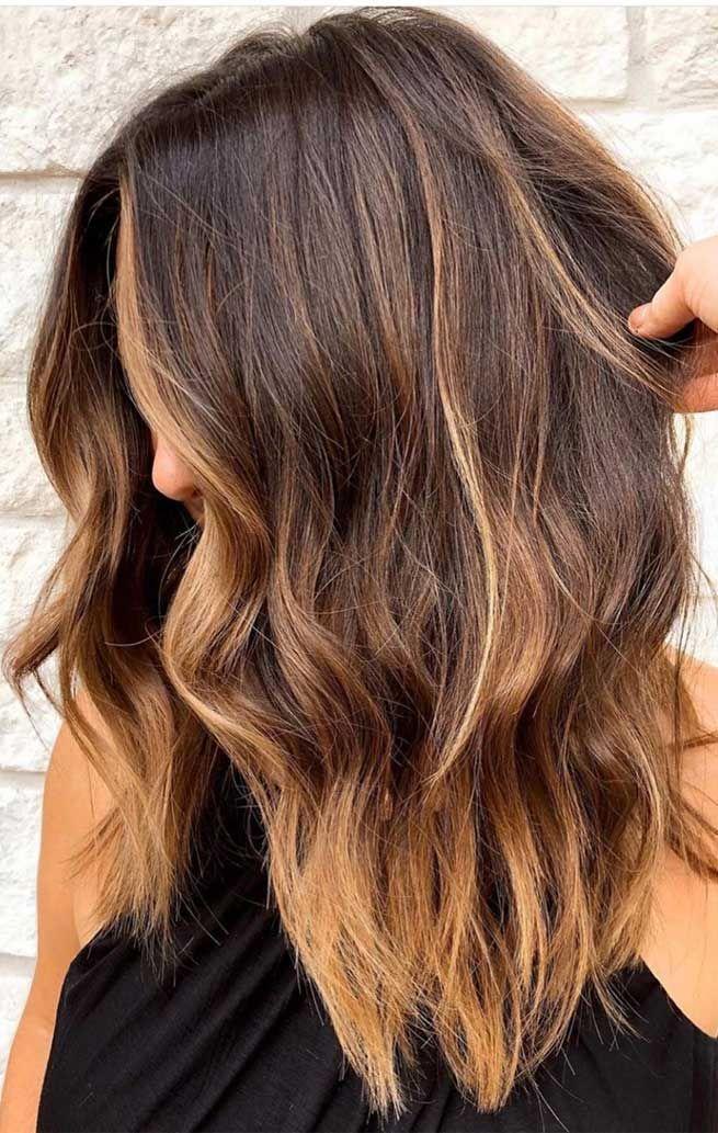 Hair Color Ideas For Brunettes Color Ideas Brunettes Highlights Short Hair Color Ideas For B In 2020 Gorgeous Hair Color Light Hair Color Brunette Hair Color