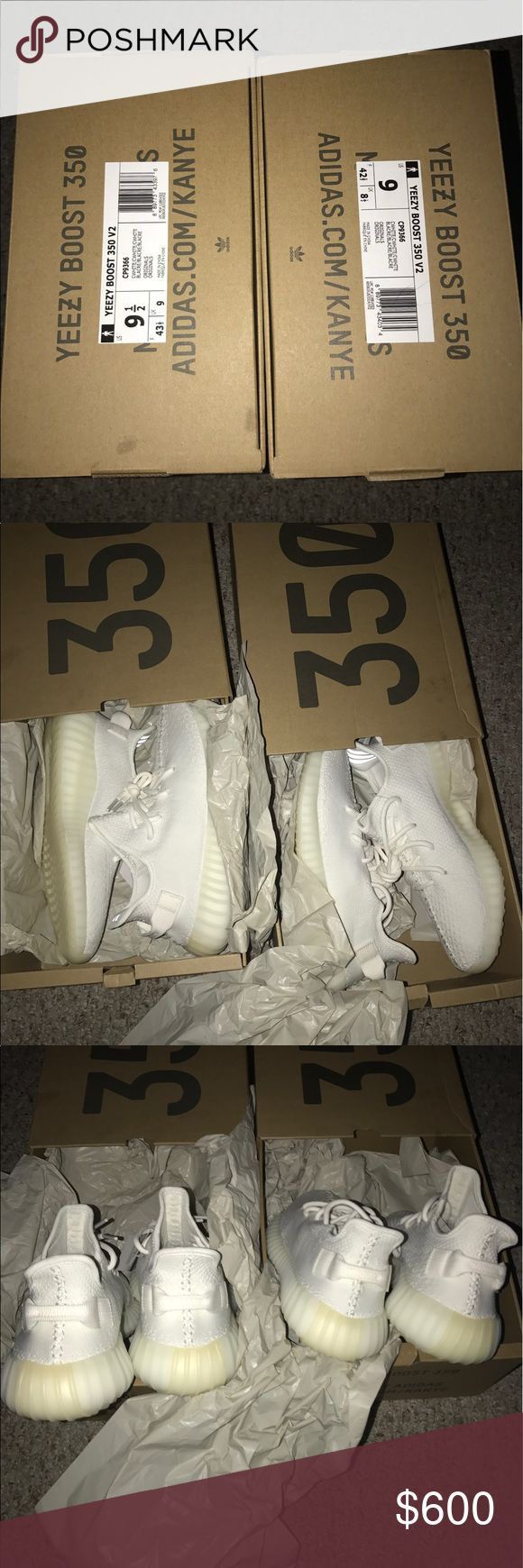 Yeezy Boost 350 V2 Cream White size 9 & 91/2 10000000% Authentic Brand New Dead Stock Yeezy Boost 350 V2 Cream White Yeezy Shoes Sneakers