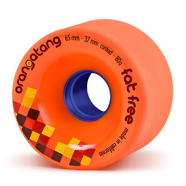 Orangatang 65mm, 80A FatFree (Orange)