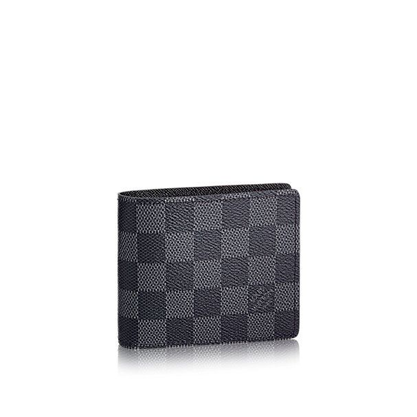 Louis Vuitton Slender Wallet Damier Graphite
