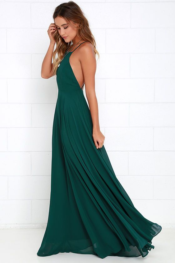 25  best ideas about Dark green prom dresses on Pinterest | Green ...